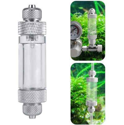 kueatily Druckregler »CO2-Blasenzähler, CO2-Druckregler, Luftpumpenzubehör für Aquarien, Aquarien zur Bestimmung der CO2-Zugabemenge«