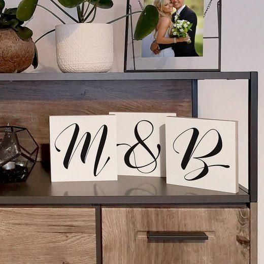 Wall-Art Deko-Buchstaben »Freistehende Buchstaben & Zahlen« (1 Stück)