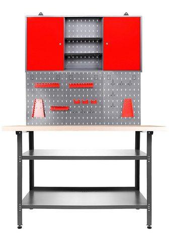 ONDIS24 Werkstatt-Set »Basic« (Set) 120 cm