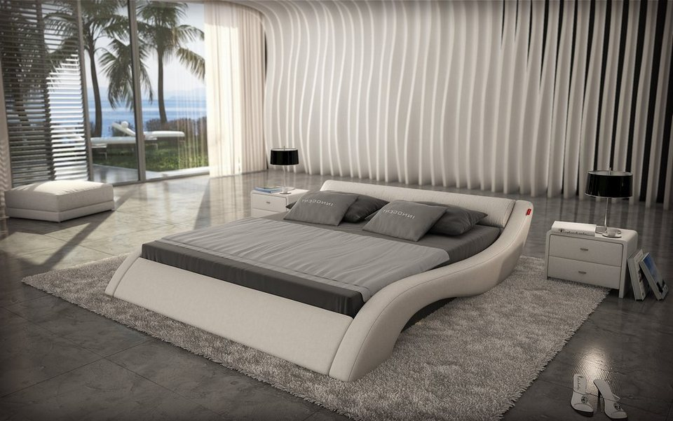 innocent polsterbett 180x200cm designer bett wei avani. Black Bedroom Furniture Sets. Home Design Ideas