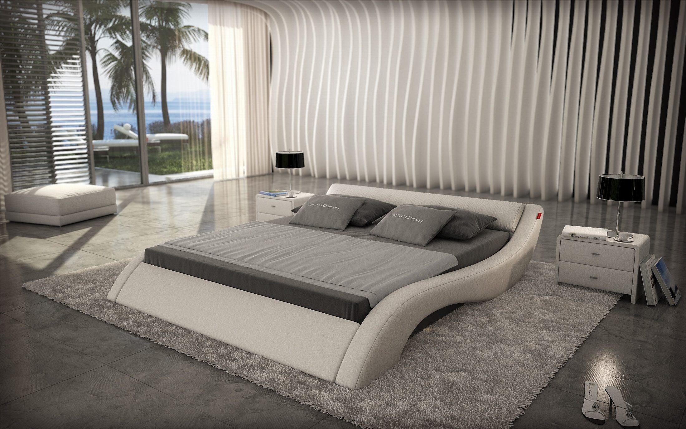 Innocent Polsterbett 180x200cm Designer Bett weiß »Avani«