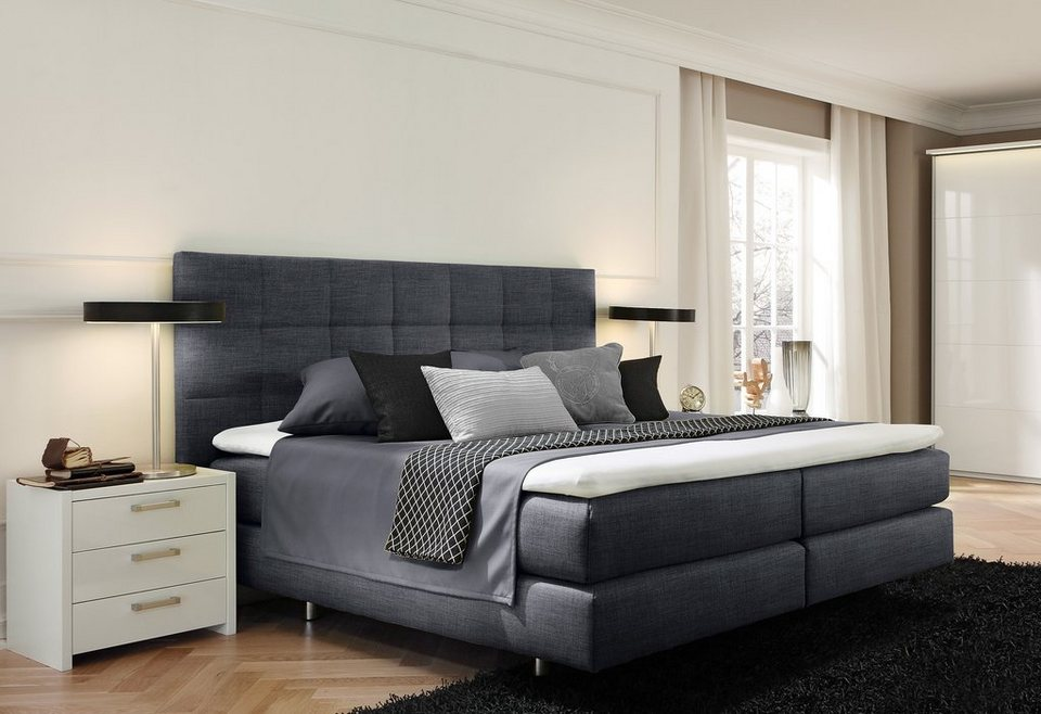 femira boxspringbett in 2 breiten online kaufen otto. Black Bedroom Furniture Sets. Home Design Ideas