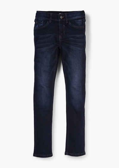 s.Oliver 5-Pocket-Jeans »Regular: Jeans mit Wascheffekt« Waschung