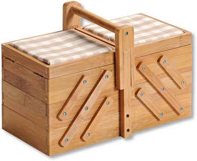 KESPER for kitchen & home Nähkästchen, FSC®-zertifizierter Bambus