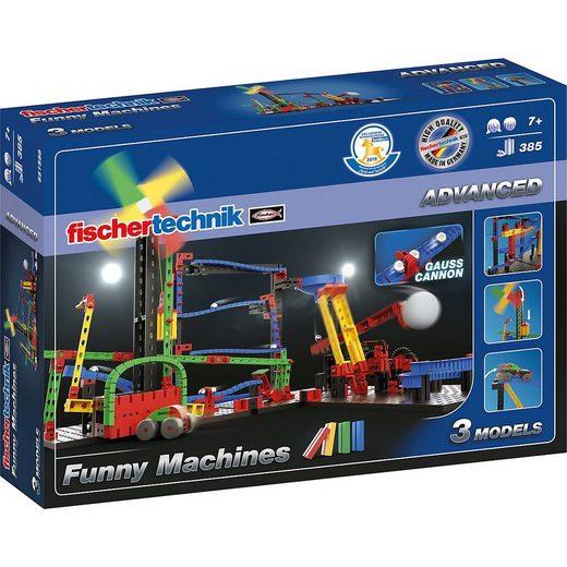 fischertechnik Spiel, »ADVANCED Funny Machines«
