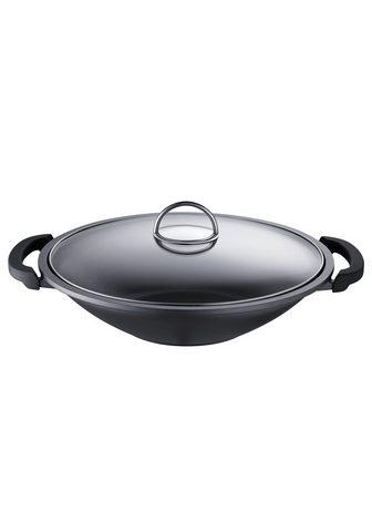 Сковорода круглая глубокая с выпуклым ...