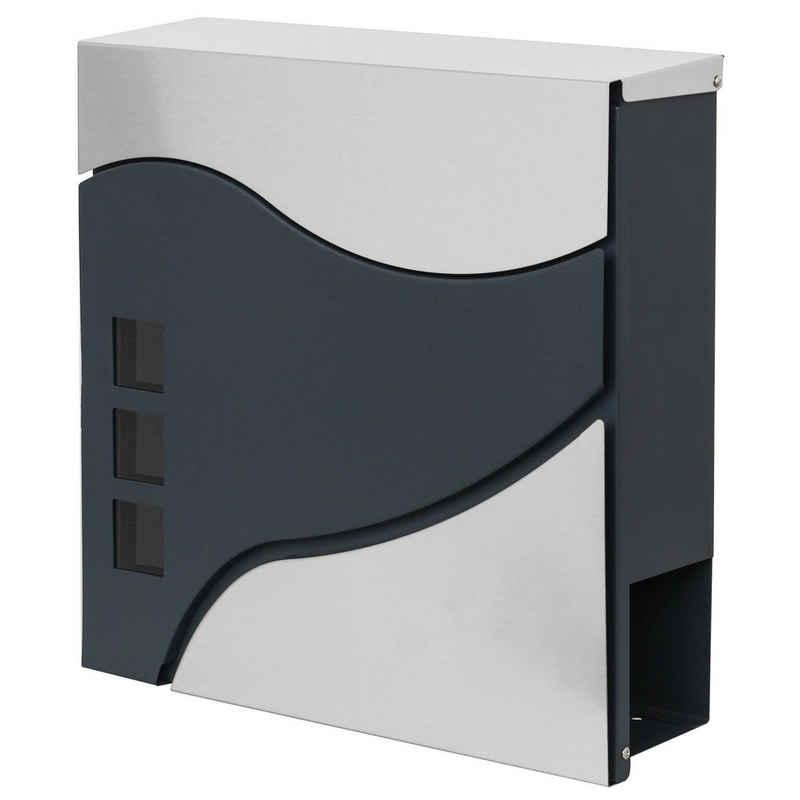 MCW Briefkasten »MCW-B31«, Zylinderschloss, Inkl. 2 Schlüsseln und Montagematerial