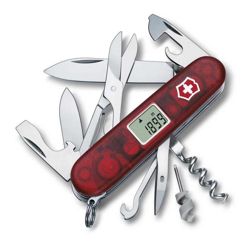 Victorinox Taschenmesser »Traveller« in Rot Transparent