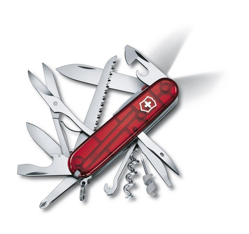 Victorinox Taschenmesser »Huntsman Lite« in Rot Transparent