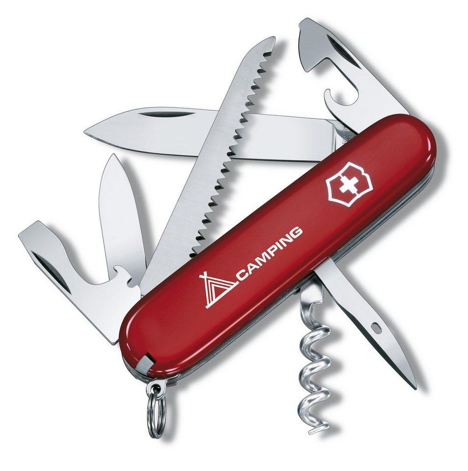 Victorinox Taschenmesser »Camper mit Druck« in Rot