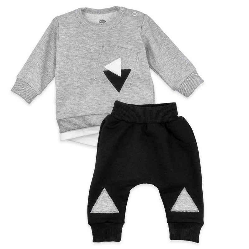 Baby Sweets Shirt & Hose »2tlg Set Shirt + Hose Lieblingsstücke Triangle« (2-tlg)