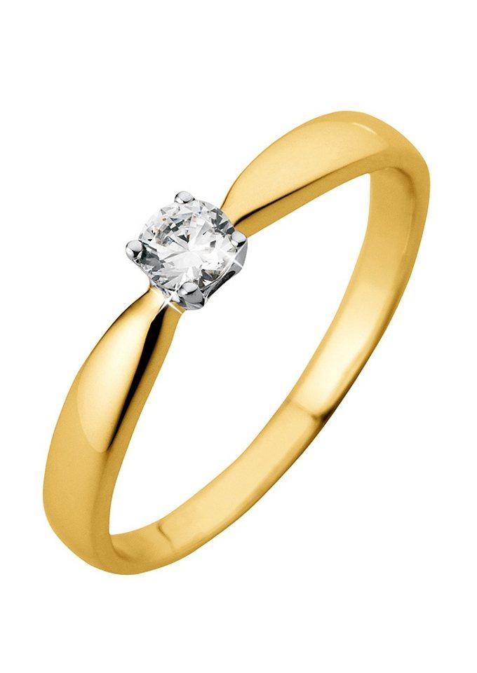 Firetti Verlobungsring »Goldring« | Schmuck > Ringe > Verlobungsringe | Goldfarben | Firetti