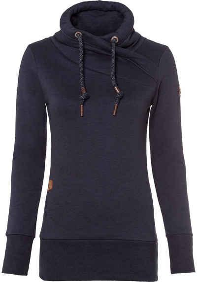 Ragwear Sweater »NESKA« mit extra breiten Rippbündchen