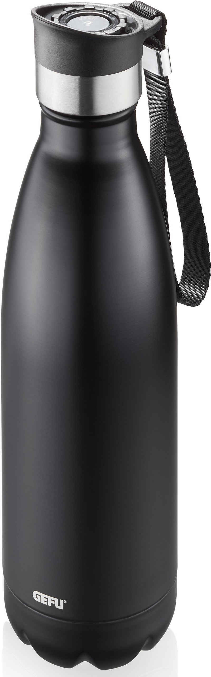 GEFU Thermoflasche »OLIMPIO«, ideal für kohlensäurehaltige Getränke