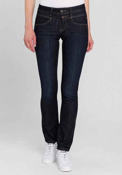Freeman T. Porter Straight-Jeans »Alexa« in moderner Rawdenim-Optik