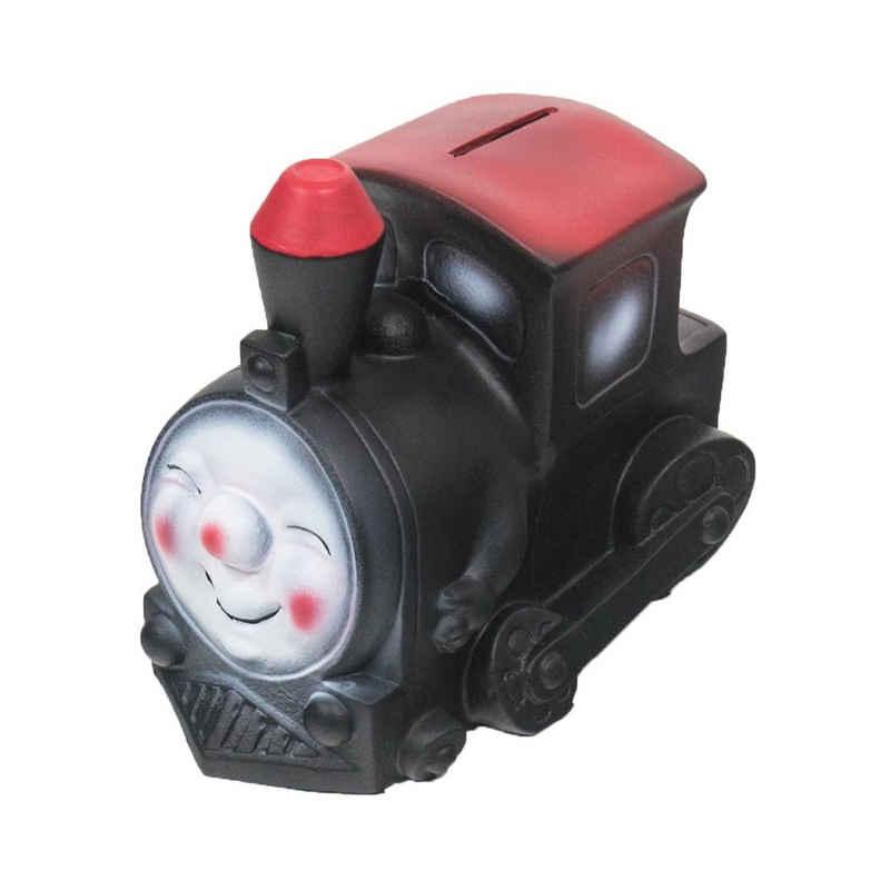 HMF Spardose »489«, Eisenbahn mit Schlüssel, 9,5 x 12,5 x 15 cm