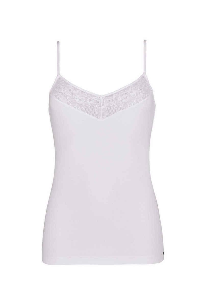 Skiny Unterhemd »Damen Spaghetti-Shirt - Smart Cotton, Basic,«