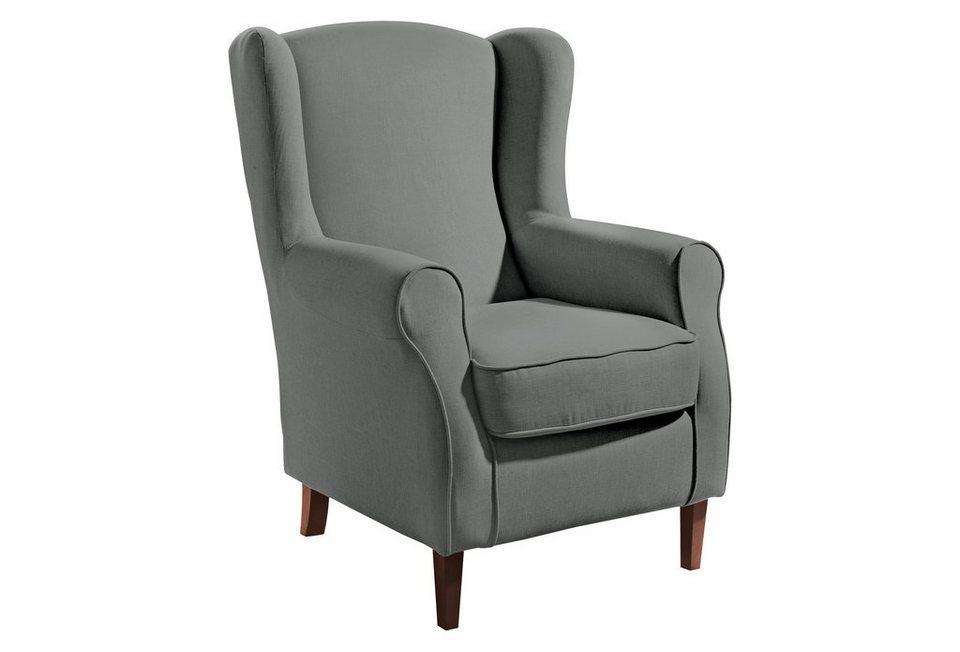 max winzer ohrensessel luke mit holzf en otto. Black Bedroom Furniture Sets. Home Design Ideas