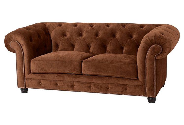 Max Winzer® Sofa »Old England«, mit edler Knopfheftung, 2-Sitzer oder 2,5-Sitzer