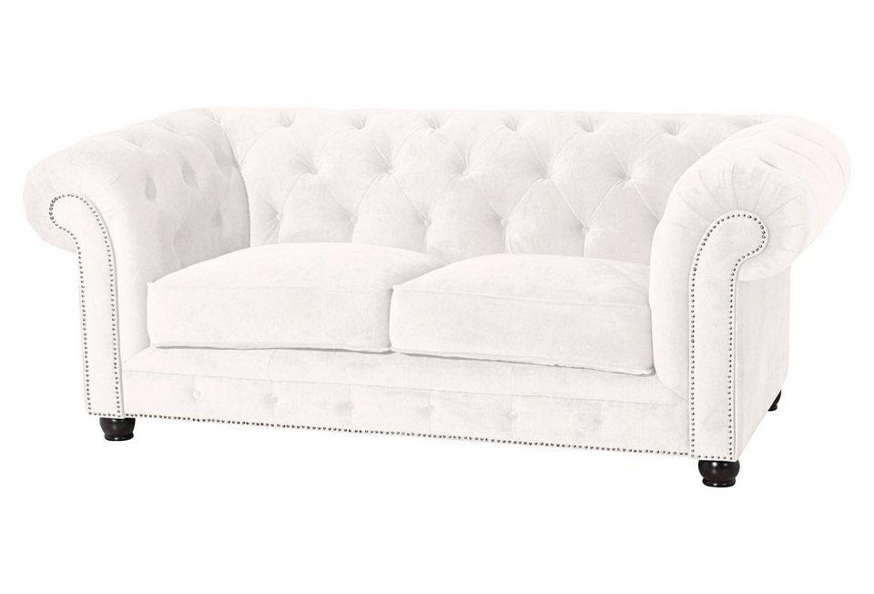 Max Winzer® Chesterfield Sofa »Old England«, mit edler Knopfheftung ...