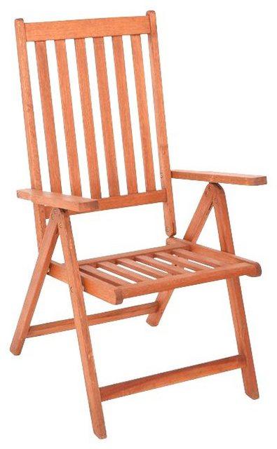 MERXX Gartenmöbel-Set 5-tlg. aus Eukalyptusholz