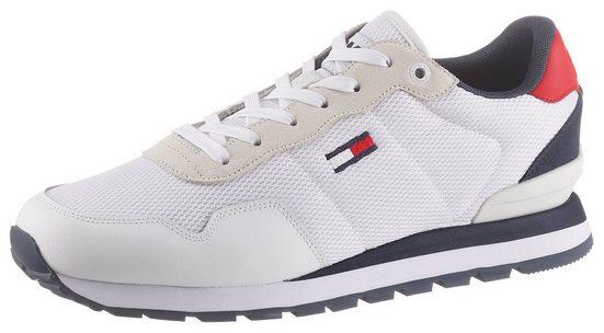TOMMY JEANS »TOMMY JEANS LIFESTYLE MIX RUNNER« Sneaker mit Logoschriftzug auf der Zunge