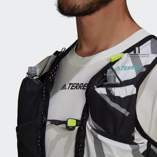 adidas TERREX Funktionsweste »Terrex Primeblue Graphic Trailrunning-Weste«