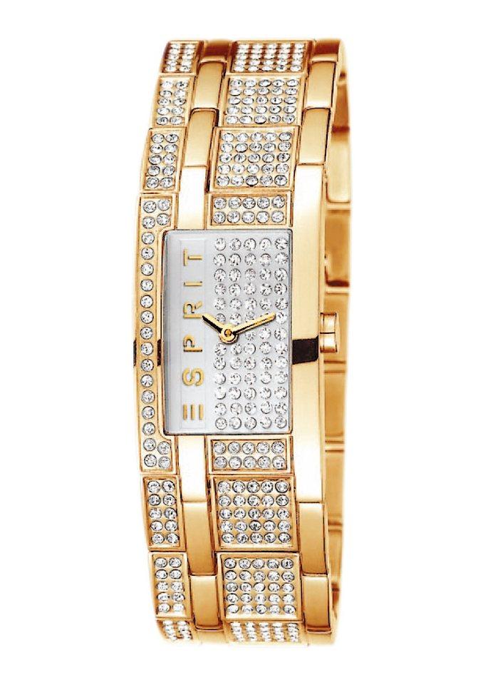 "ESPRIT, Armbanduhr, ""ESPRIT-TP000ES GOLD, ES000EW2002"" in goldfarben"