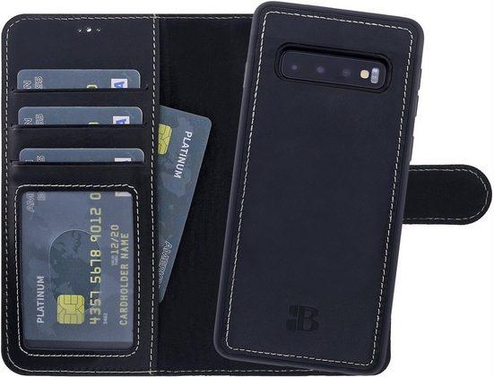 Burkley Flip Case »Samsung Galaxy S10 Detachable Wallet Handyhülle«