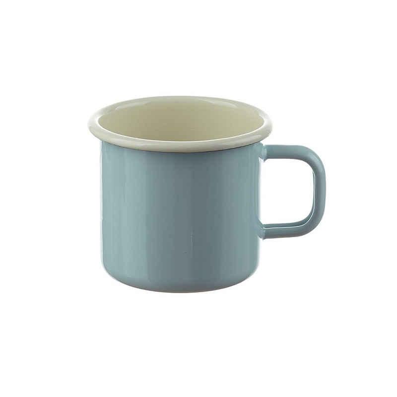 Neuetischkultur Tasse »Becher Retro«, Emaille