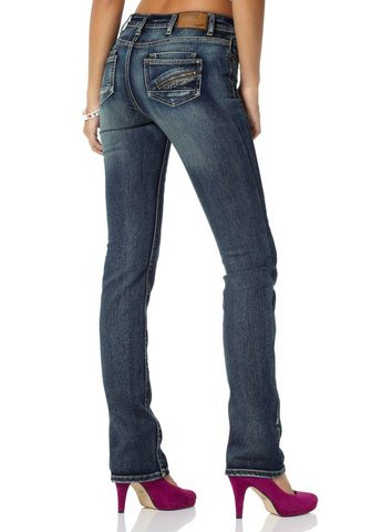ARIZONA Gerade джинсы »mit Zippertasche&...