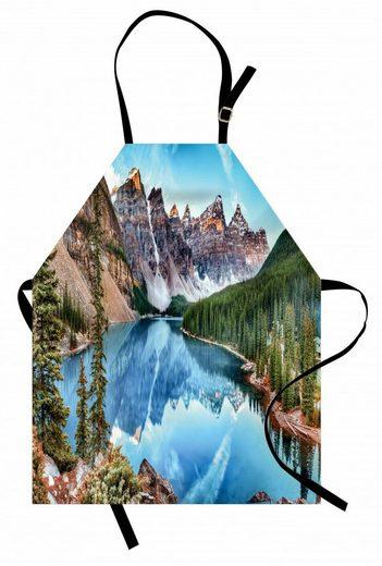 Abakuhaus Kochschürze »Höhenverstellbar Klare Farben ohne verblassen«, Scenic Sommer Moraine Lake Panorama
