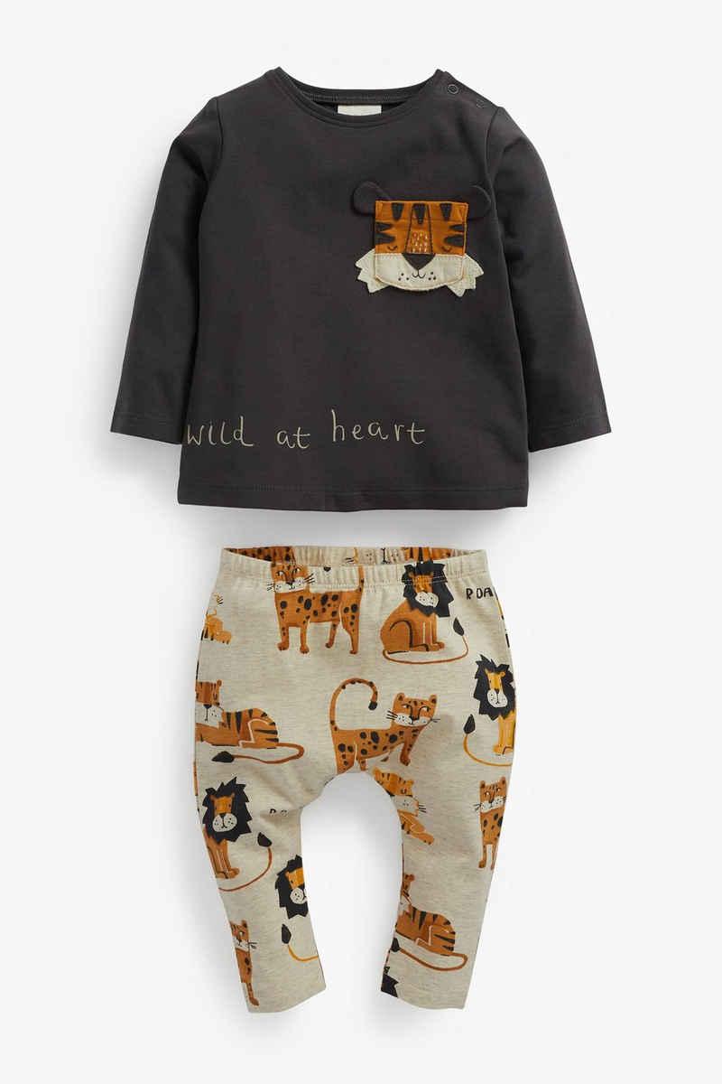 Next Top & Leggings »T-Shirt und Leggings« (2-tlg)