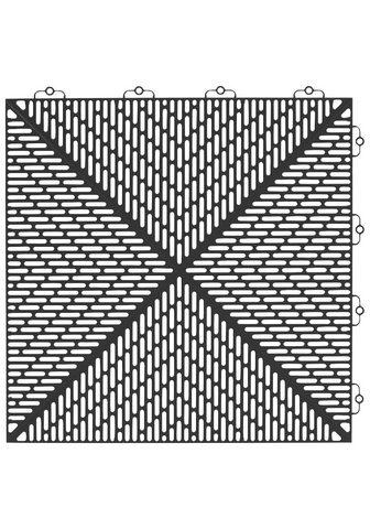 Bergo Flooring Terrassenplatten »Unique Anthrazit« 38...