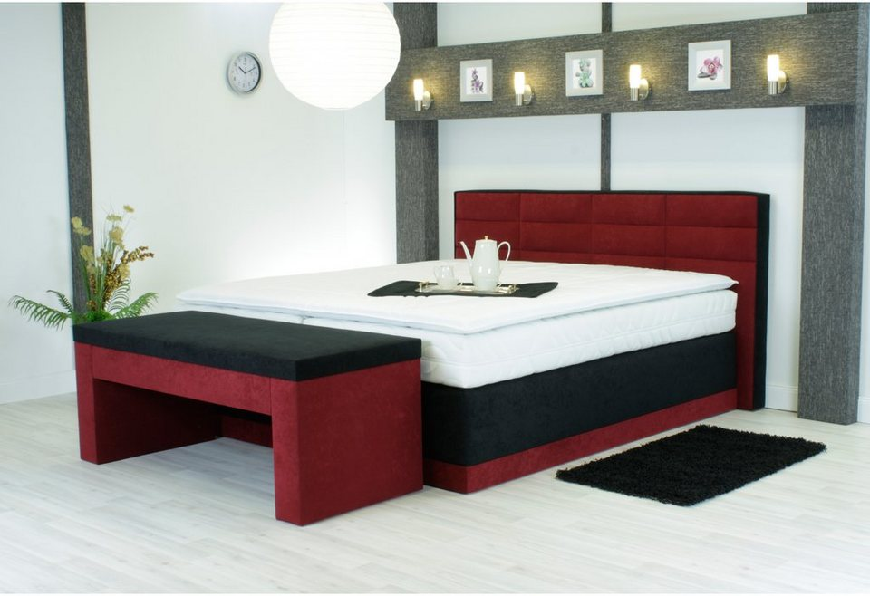 westfalia polsterbetten boxspringbett kaufen otto. Black Bedroom Furniture Sets. Home Design Ideas