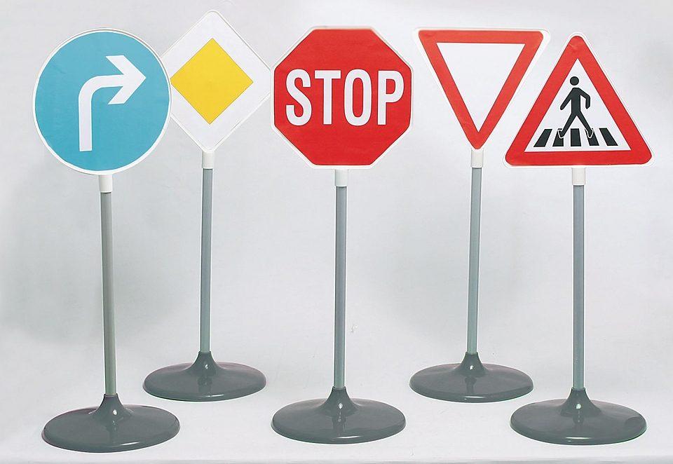 Klein Verkehrszeichen-Set (5tlg.)