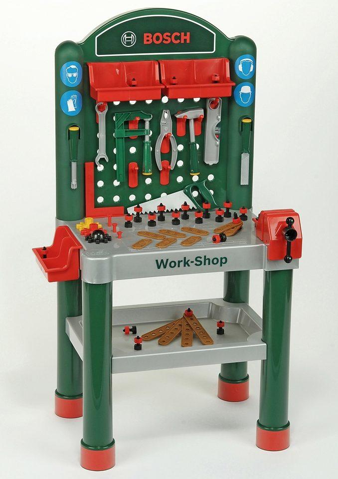 Klein Werkbank für Kinder inkl. Zubehör »BOSCH-Work-Shop«