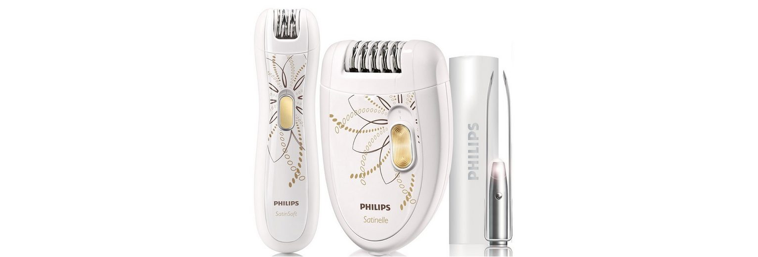 Philips Epilier-Set »Satinelle HP 6540/00«