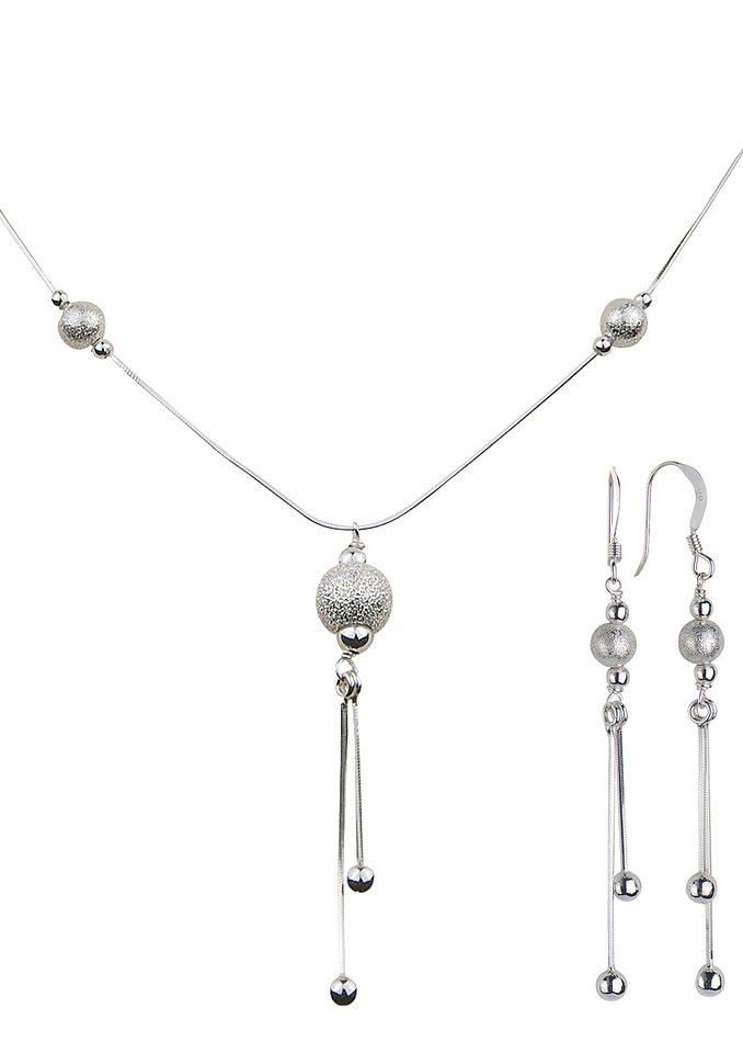 firetti Schmuckset: Ohrschmuck und Halskette (3tlg.) jetztbilligerkaufen