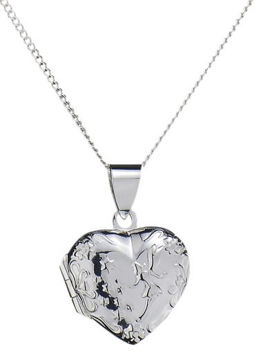 Firetti Kette mit Anhänger »Herz-Medaillon«