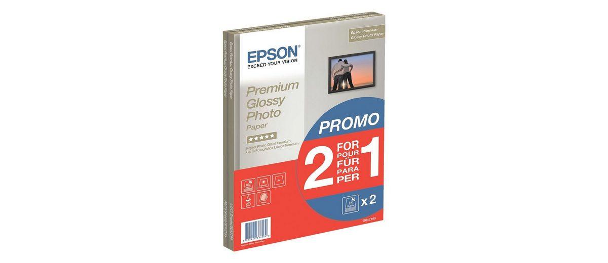 Epson Fotopapier »Premium Glossy«, A4