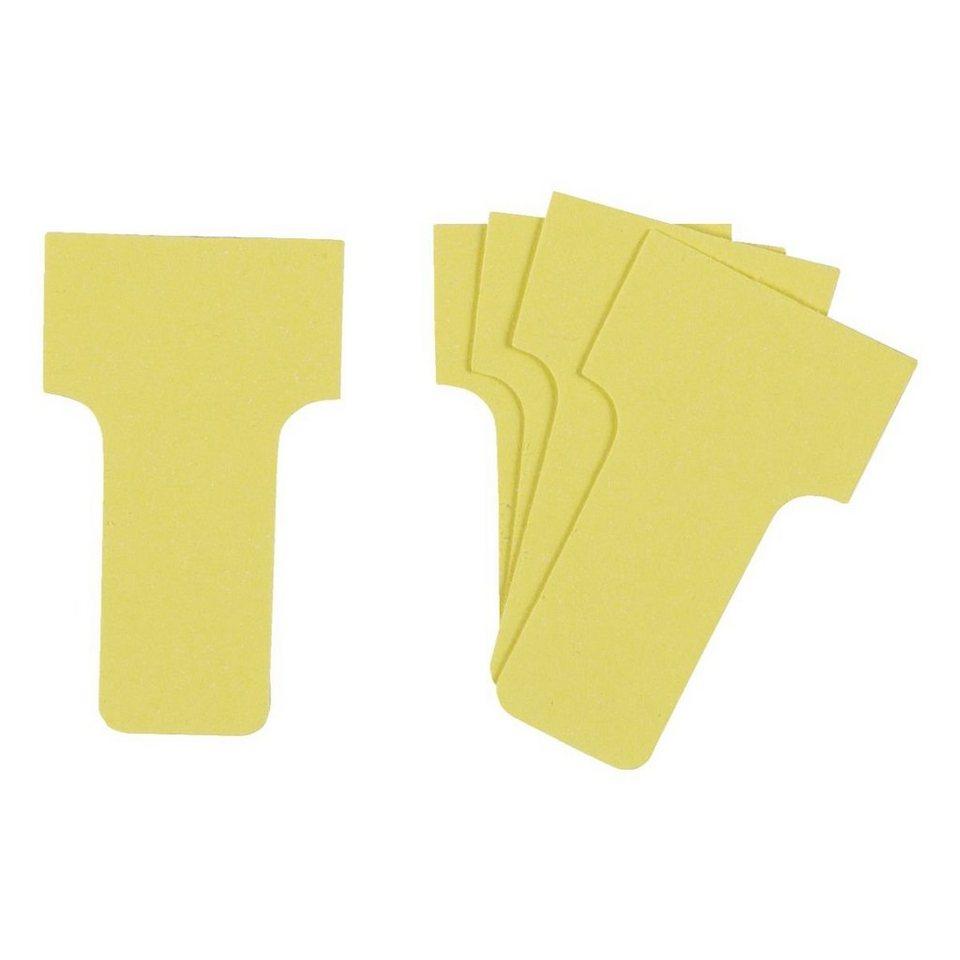 Franken T-Karten für Indexspalte (Kleinformat) in gelb