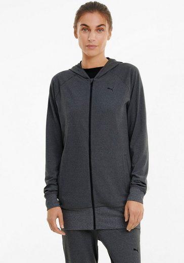 PUMA Kapuzensweatjacke »Studio Knit Jacket Plus Size« in großen Größen