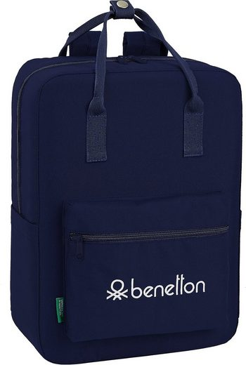 United Colors of Benetton Freizeitrucksack »Freizeitrucksack Benetton Basic burgund«