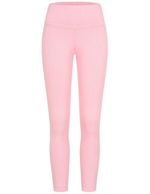 Hosen - Cotton Candy Leggings »SADE« in schlichtem Design › rosa  - Onlineshop OTTO