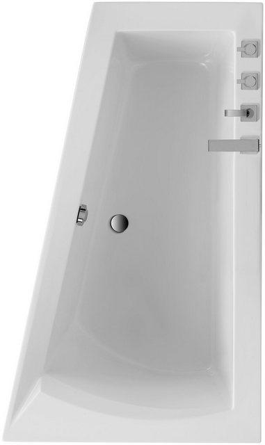 Wanne Galia I, mit Wannenträger, Breite 160/170 cm