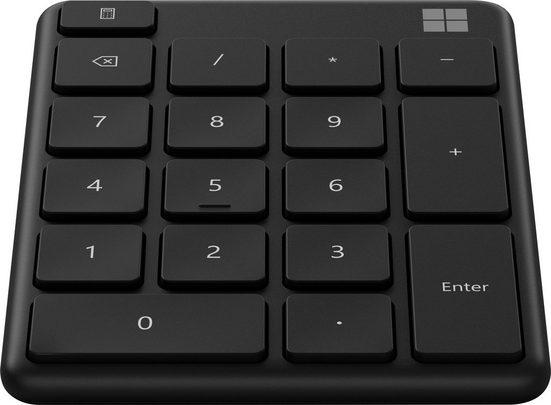 Microsoft »MS Number Pad Black« Tastatur