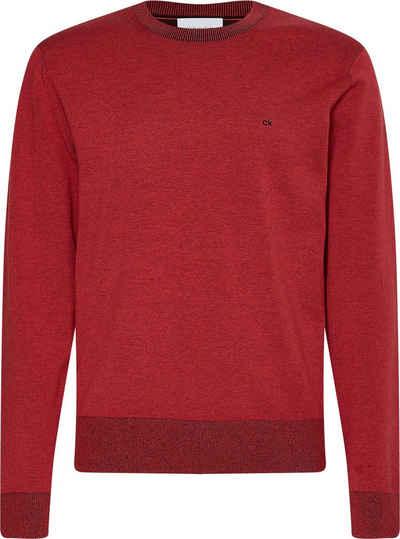 Calvin Klein Rundhalspullover »COTTON SILK C-NECK SWEATER«