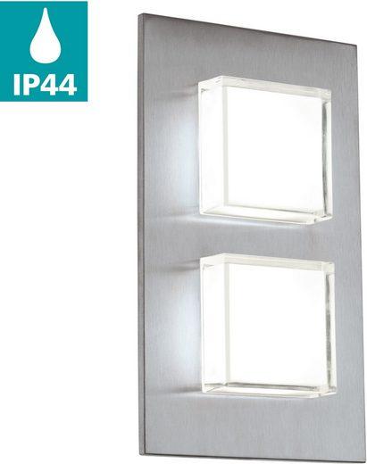 EGLO LED Außen-Wandleuchte »Pias«, Eckmontage möglich, LED tauschbar