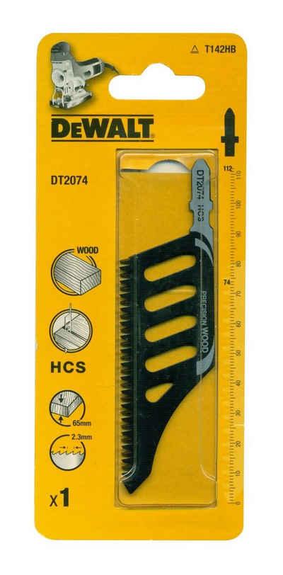 DeWalt Stichsägeblatt (1-St), DT2074 Sägeblatt Stichsäge Werkzeug Zubehör